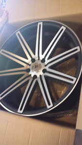 """NEW 20"""" 5X114.3 STAGGERED ALLOY RIMS"""