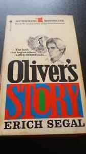 Erich Segal ~ Oliver's Story