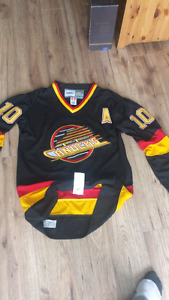 Authentic Vancouver Canucks jersey