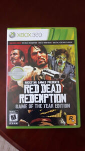 XBOX 360 Red Dead Redemption *Game of the Year Edition* complete
