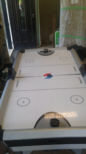 Air hockey table. In good condition