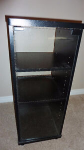 Stereo Display Unit with Glass Door