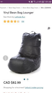 Brand new bean bag chair from wayfair for sale!!