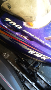 Parting out complete 2000 polaris 700 rmk