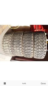 Rally Gravel tyres 195/55/15 9mm of tread