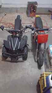 2 MINI BIKES FOR SALE