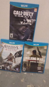 Selling these Wii U games