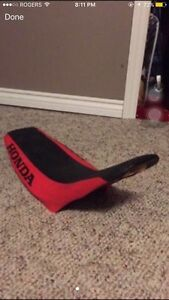 Honda dirt bike seat