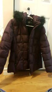 Ladies Calvin Klein Duck Down Winter Jacket Large