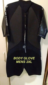 Body Glove 2XL (short cut) Mens Wet Suit
