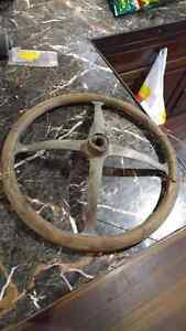 Vintage 1900's steering wheel West Island Greater Montréal image 2