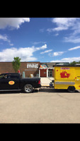 Successful food/hot dog/concession trailer and business for sale