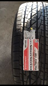 New 265/70R18 tires