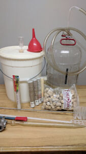 Complete Wine and Beer Making equipment - Starter Kit