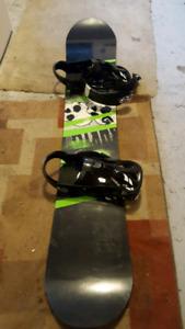 Mens Burtnon Snowboard and K2 Boots for sale
