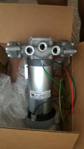 Cat pump and dc motor BRAND NEW