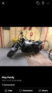 Motorcycle 2015 Harley Davidson 800 km