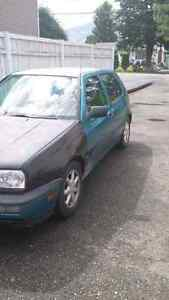 Parting out 1993 VW GOLF Wolfsberg