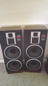 Large speakers......reduced