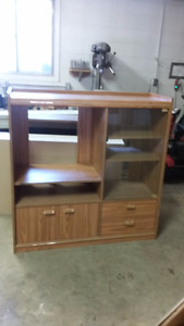 TV Stand Shelving Unit