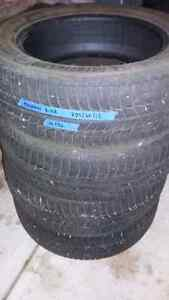 Michelin xice 225/60/18 winter tires
