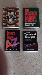 Various Stock Market Technical Analysis Books for sale