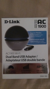 D-Link AC 1900 Dual Band USB Wireless Adapter