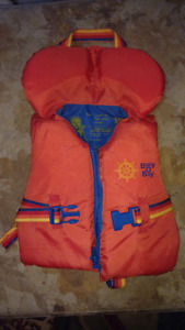 Bouy o boy life jacket