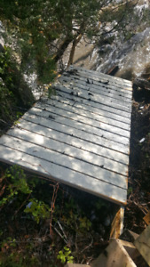 Free dock sections