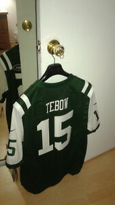JERSY FROM NY JETS # 15 TIM TEBOW (NEW WITH TAGS) West Island Greater Montréal image 3