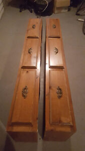 Wooden Bed Frame with Drawers Single/Double