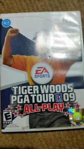 """Tiger Woods PGA Tour 09 'All-Play' (Wii) $10  ***PLEASE VIEW PO"