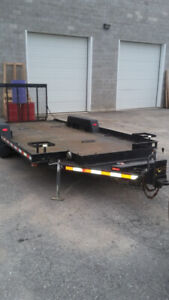 Flat Deck Float Trailer