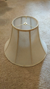Offwhite vintage lamp shade