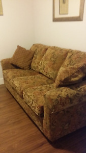 couch, pet free smoke free home, excellent condition