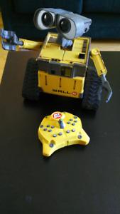 Robot téléguidé Wall-E U-Command - rare!