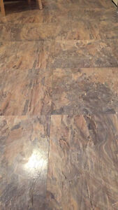 Laminate click tile
