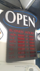 OPEN Sign for Sale!