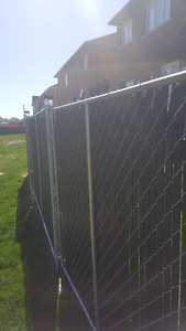 Metal free standing  fencing for sale