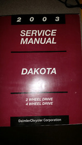 Service Manual 2003 Dakota