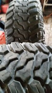 i have 4 31 10.50R15 deep mud digger tires almost new