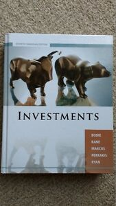 Investments Textbook - 7th Edition - McGraw-Hill Ryerson Gatineau Ottawa / Gatineau Area image 1