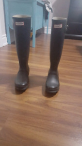 Hunter Boots size 5