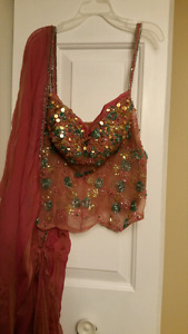 Gorgeous bollywood style outfit
