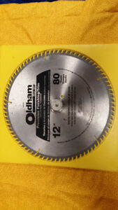 """Rugged Oldham 12"""", 80 Tooth All-Purpose Finishing Blade"""