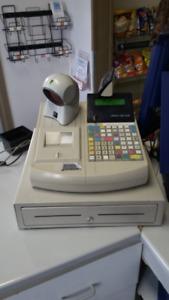 caisse enregistreusse avec scan