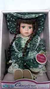 Christina Collection fine porcelain doll (new in box)