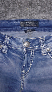 Jeans silver 27