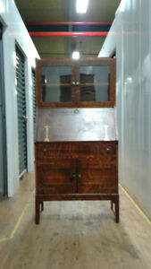 Antique  Secretary and Hutch