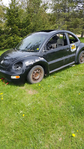 2001 Volkswagen Beetle Coupe race car